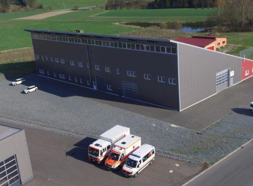 Aus- und Umbau einer Industriehalle für besonderen Einsatzlagen
