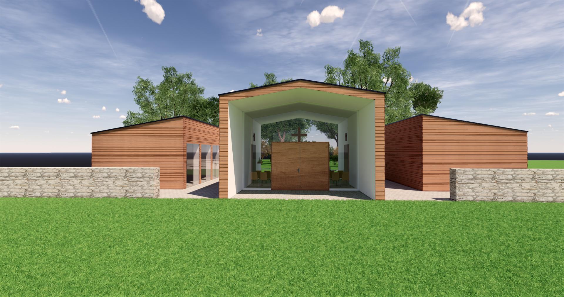 Neubau einer Aussegnungshalle in Weidenberg