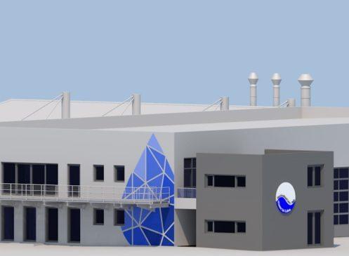 Neubau einer Betriebsanlage mit zugehörigem Nebengebäude