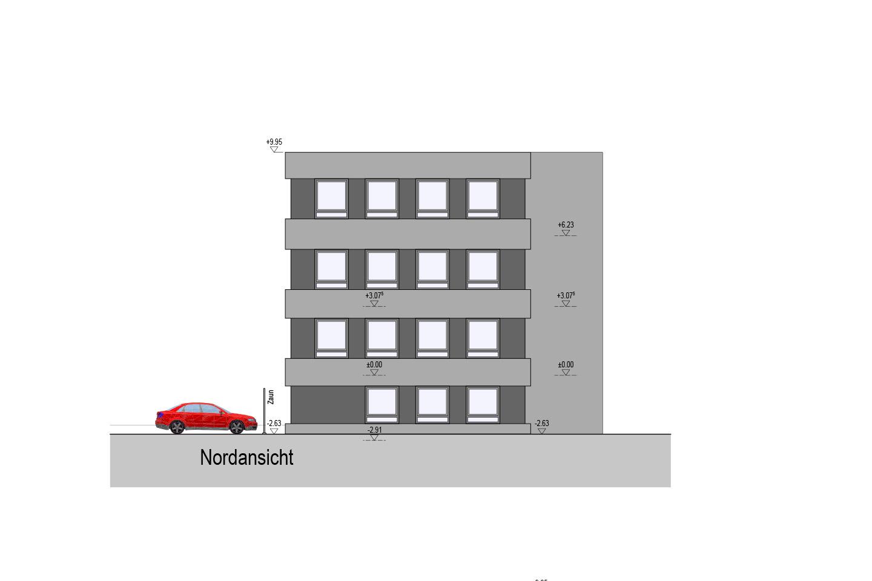 Aufstockung eines Verwaltungsgebäudes