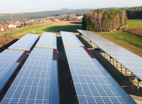 Carport / Photovoltaikanlage